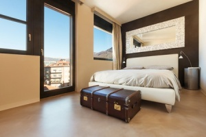 29212595 - apartment in new building, comfortable double bed